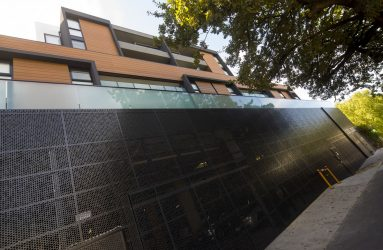 Product: Perforated Metal Architect: Hassell Location: Box Hill Institute