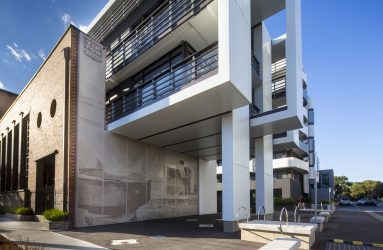 Location: Tip Top Apartments,Brunswick East,VIC Architect: Rothe Lowman/ Sue Hodges Productions