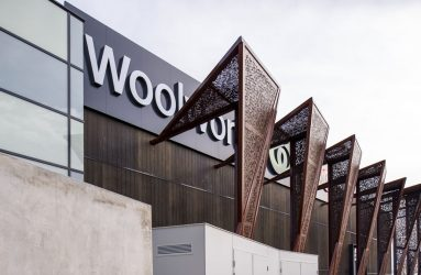 Product: Perforated Metal Location: Woolworths Store