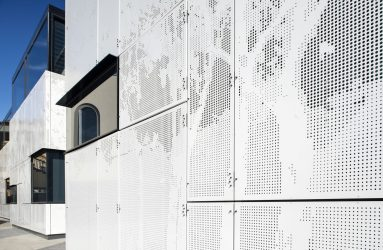 Architect: Cox Architects Location: Wesley College, Melbourne