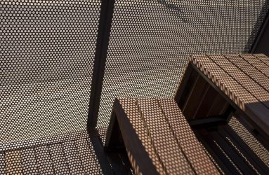 Product: Perforated Metal 3mm Aluminium Architect: Billard Leece Partnership Location: La Trobe University Bendigo Campus