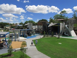 The new Frew Park is one of Australia's most impressive playgrounds, in part thanks to Locker Group.