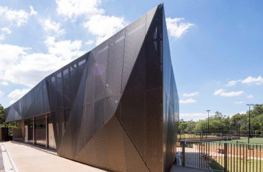 Product: Perforated Triangle Façade