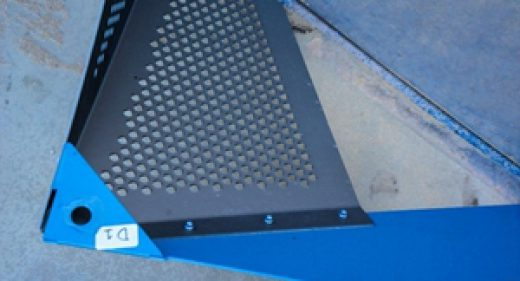 There are lots of reasons to use perforated metal.