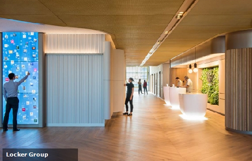 Pwc customer experience centre barangaroo lockergroup for Experiential design sydney