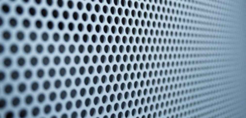 Perforated metal is a versatile material, but how is it made?