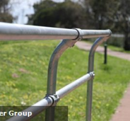 3 tips for fixing your modular handrail to concrete.