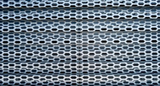 What makes perforated metal environmentally friendly?