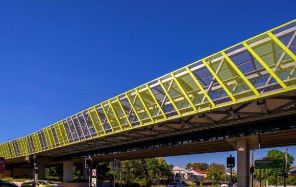 Cyclist Overpass Brisbane