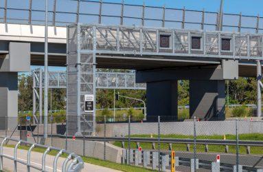 Speed Limit Gantry Brisbane