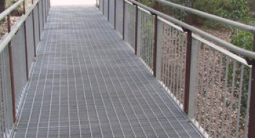 Metal grating walkways have numerous and varied applications.