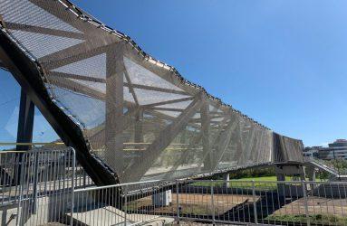 Locker Transit Reid Park Footbridge