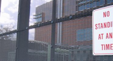 Expanded mesh is an effective security tool in many applications.