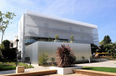 Locker Aurora Facade system with perforated metal